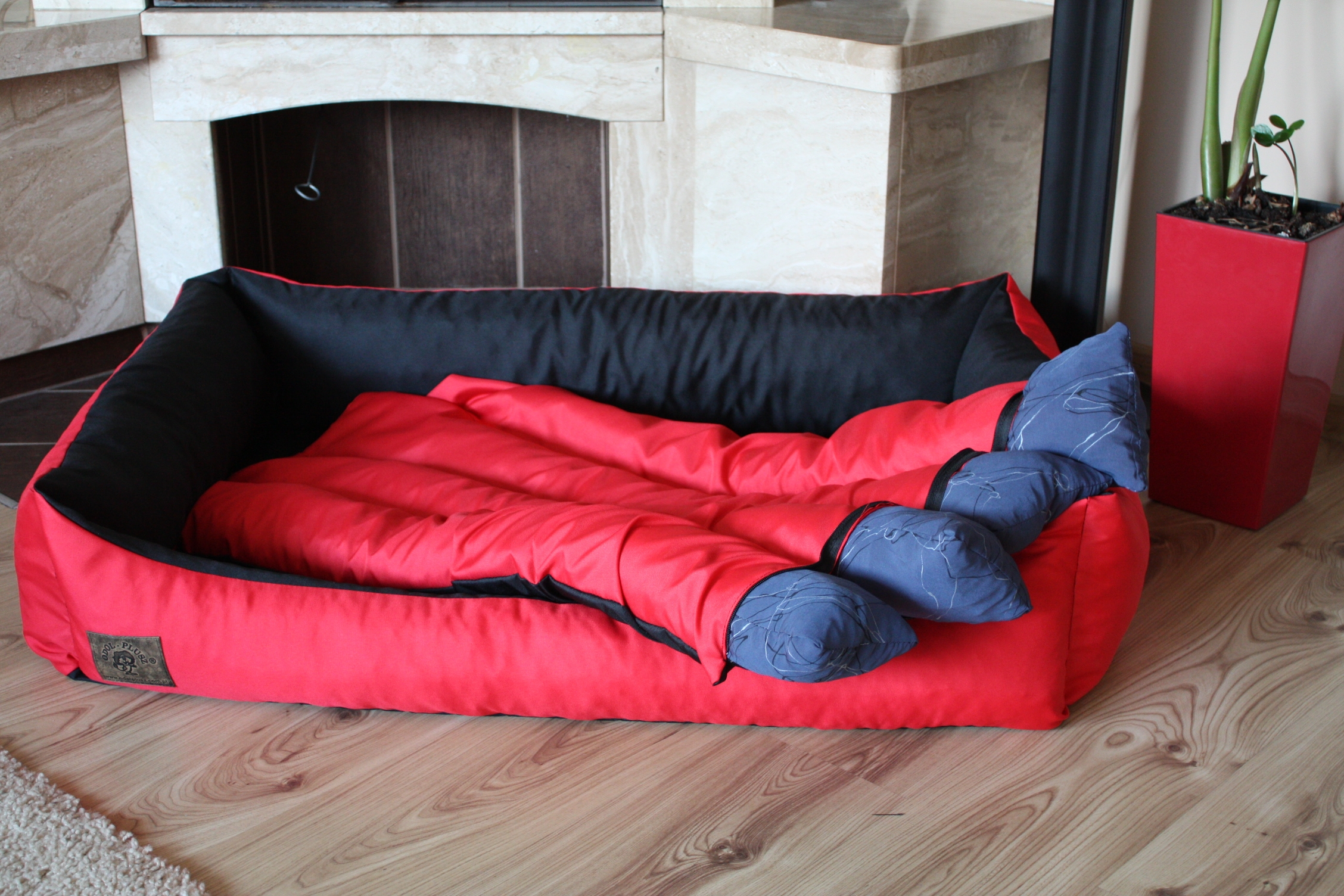 dog bed dog couch with removable cover double sided 2 ebay. Black Bedroom Furniture Sets. Home Design Ideas