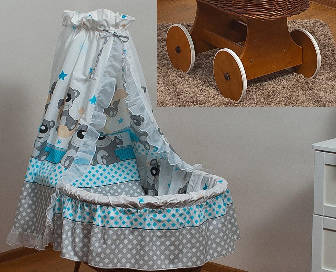 Bettwäsche set mit baumwolle himmel moseskorb stubenwagen babykorb