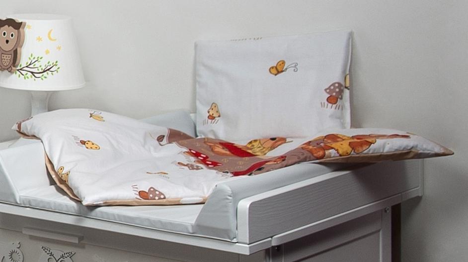 Bettwäscheset mit decke 70x50 bettzeug für kinderwagen stubenwagen