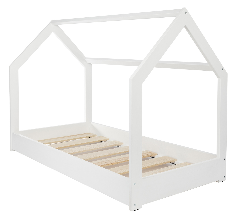 Wooden bed Scandinavian style modern kids bed home bed 190x90cm